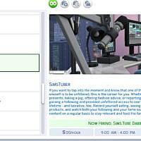 Simstuber Sims 4 Career By Adeepindigo