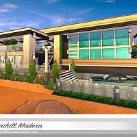 Sirihill Modern Sims 4 House