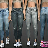 Skinny Sims 4 Jeans 413