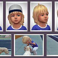 Skyler Sims Toddler Hair