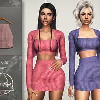 Sloan Sims 4 Mini Skirt