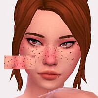 Snowdrop Sims 4 Freckles