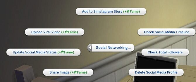 Social Network Interactions Crossover Mod The Sims 4