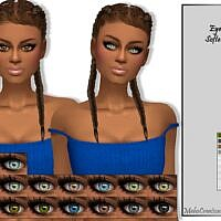 Softette Sims 4 Eyes