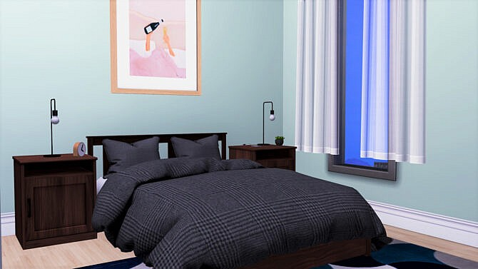 Songesand Sims 4 Bedroom Series