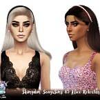 Sonyasims 85 Alice Sims 4 Hair Retexture