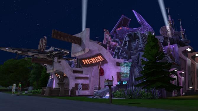 Star Wars Sims 4 Nightclub 5