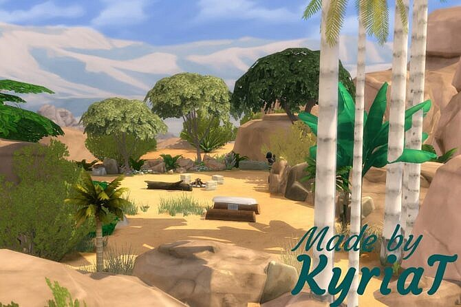 Stoneage First Home Sims 4