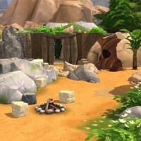 Stoneage Second Sims 4 Home