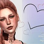 Stoneheart Sims 4 Earrings