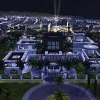 Superstar Mega Mansion Sims 4