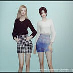 Sweatshirt Sims 4 Skirt Outfit 202124