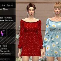 Sweet Pea Sims 4 Dress