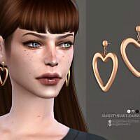 Sweetheart Sims 4 Earrings Sugar Owl