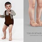Toddler Detailed Sims 4 Feet