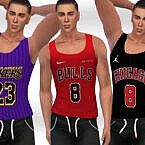 Tank Tops Sims 4 Male