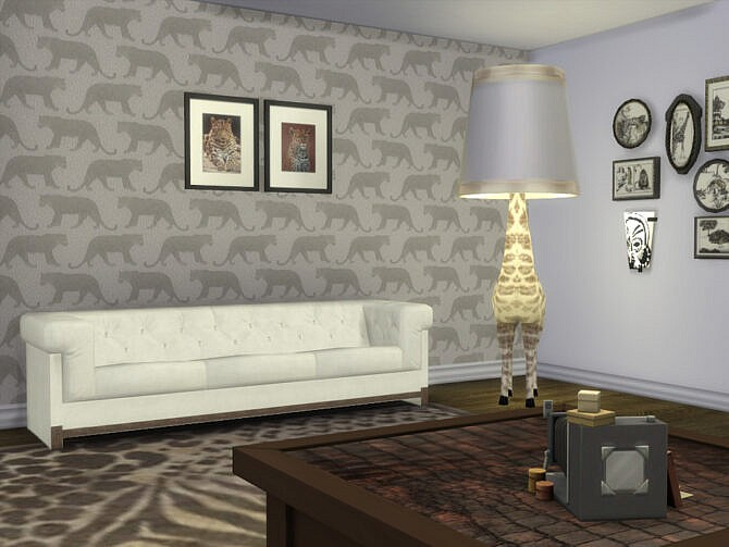 Sims 4 A Taste Of Africa Walls by seimar8 at TSR