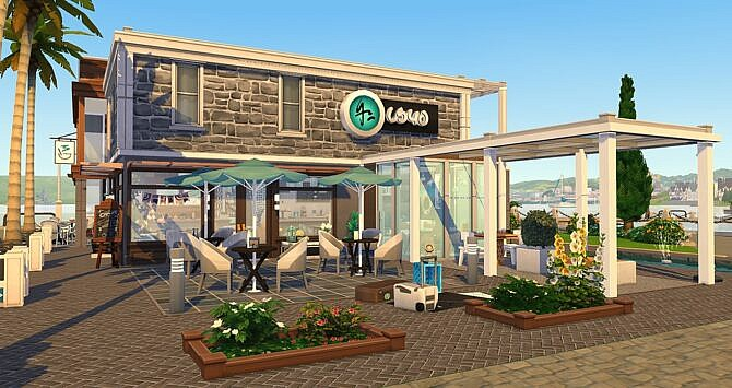 Tea Time Sims 4 Bar