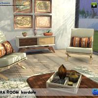 Terra Sims 4 Living Room