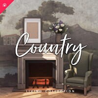 The Country Sims 4 Living Collection