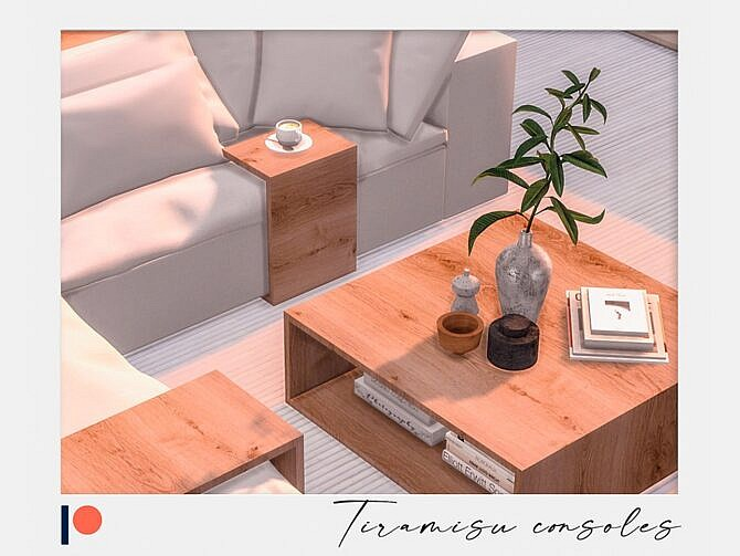 Sims 4 Tiramisu consoles by Winner9 at TSR