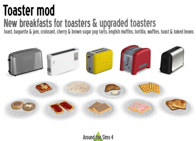 Toaster Mod Sims 4