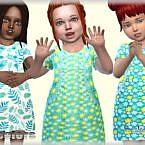 Toddler Sims 4 Dress