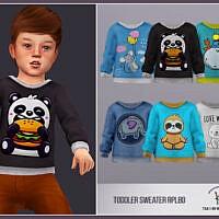 Toddler Sims 4 Sweater Rpl80