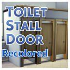 Toilet Stall Door Sims 4 Recolors