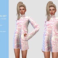 Tunic Sims 4 Dress N287