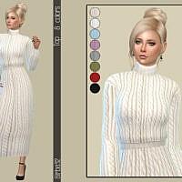 Turtleneck Sims 4 Sweater