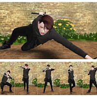 Twin Sims 4 Pose 2