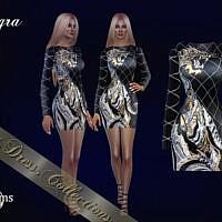 Tygra Sims 4 Short Dress