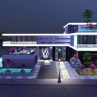 Utopia Luxury Sims 4 Mansion