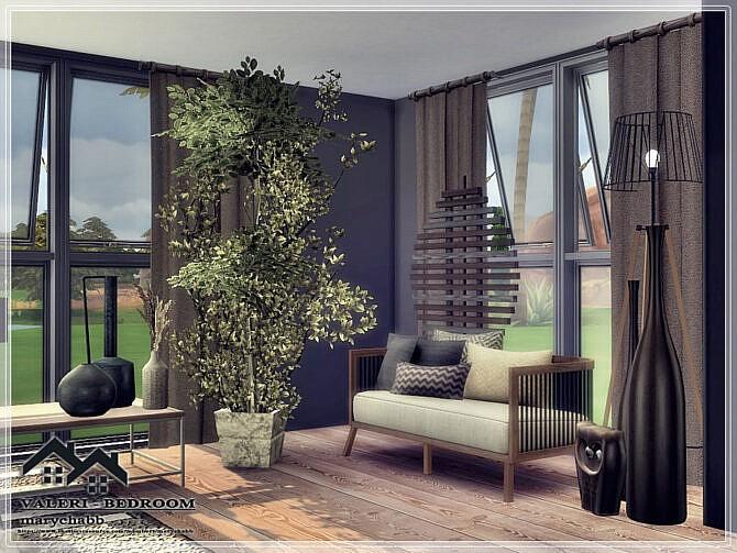 Sims 4 VALERI Bedroom by marychabb at TSR