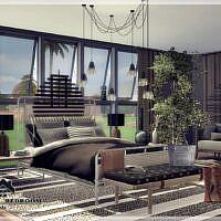 Valeri Sims 4 Bedroom