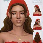 Vasia Long Sims 4 Hair