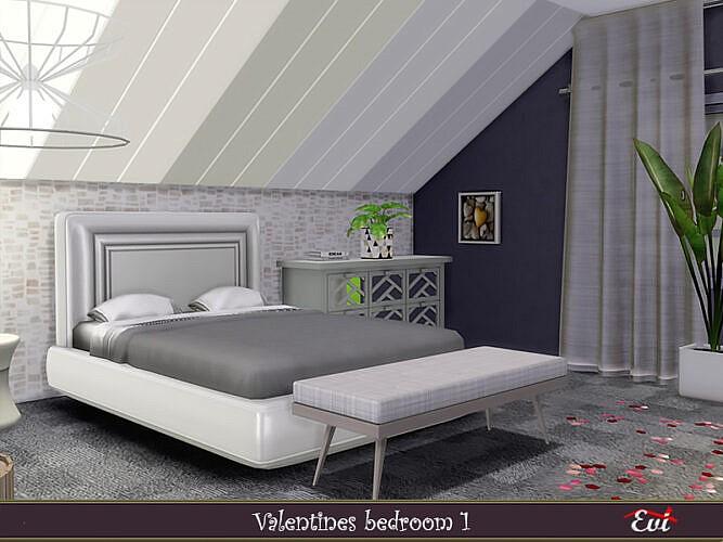 Valentine Sims 4 Bedroom 1