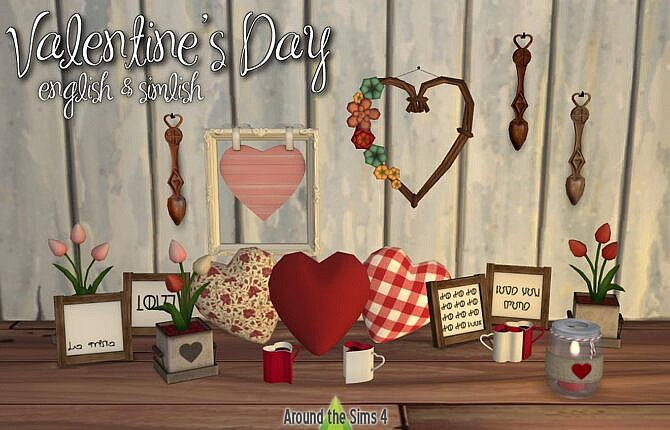 Valentines Day Sims 4 Clutter