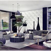 Valeri Sims 4 Living Room