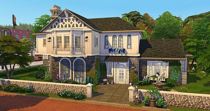 Villa Enchantee Sims 4