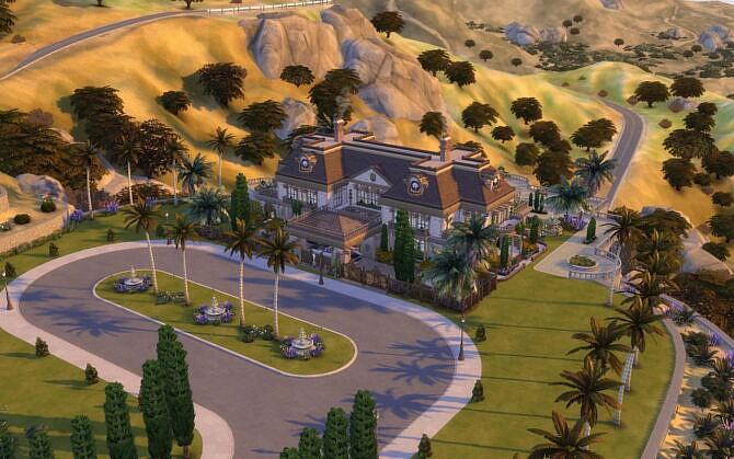 Sims 4 Villa Glamorous by alexiasi at Mod The Sims 4