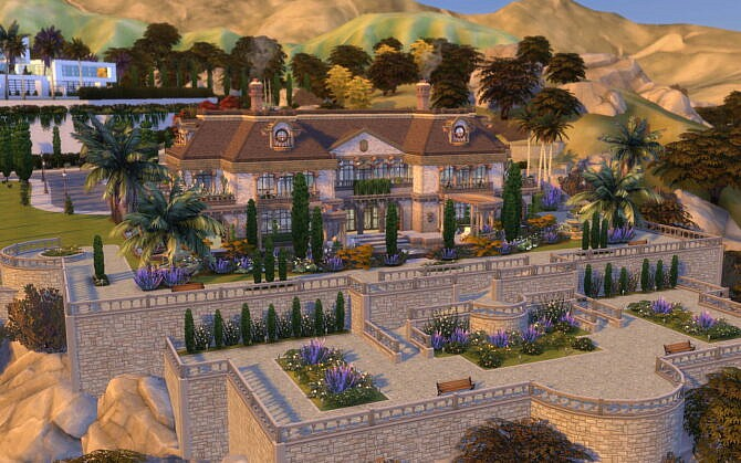 Villa Sims 4 Glamorous