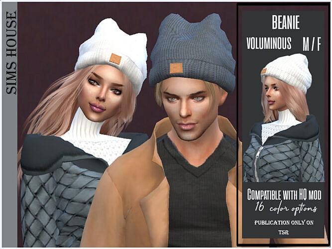 Voluminous Sims 4 Beanie