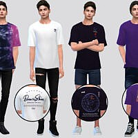 Voyager Sims 4 Tees