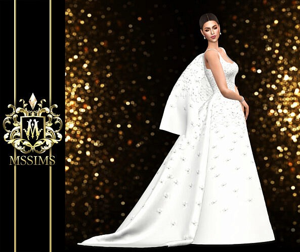Wedding Gown Sims 4