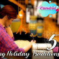 Writing Holiday Traditions Sims 4