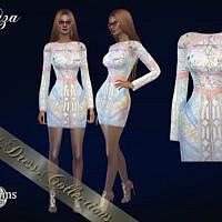 Wyrza Sims 4 Formal Dress