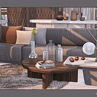 Xenia Sims 4 Living Room