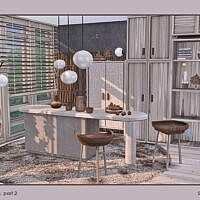Xenia Living Room Sims 4